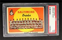 Baltimore Orioles Team (1st Series Checklist 1-88) [PSA 7]