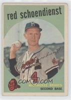 Red Schoendienst [Good to VG‑EX]