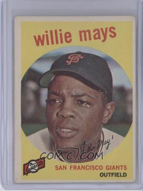 1959 Topps #50 - Willie Mays