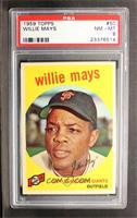 Willie Mays [PSA8]