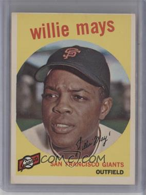 1959 Topps #50 - Willie Mays [Good to VG‑EX]