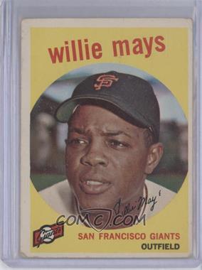 1959 Topps #50 - Willie Mays [GoodtoVG‑EX]