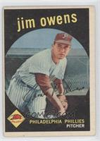 Jim Owens [Good to VG‑EX]