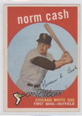 1959 Topps #509 - Norm Cash