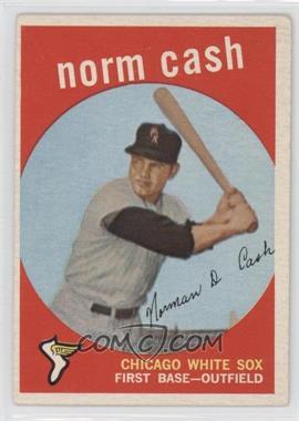 1959 Topps #509 - Norm Cash [GoodtoVG‑EX]