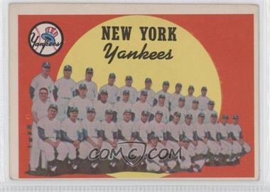 1959 Topps #510 - New York Yankees