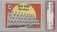 New York Yankees [PSA 4]