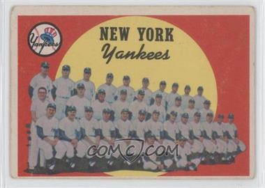 1959 Topps #510 - New York Yankees [Good to VG‑EX]