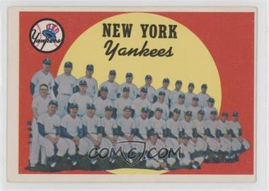 1959 Topps #510 - New York Yankees