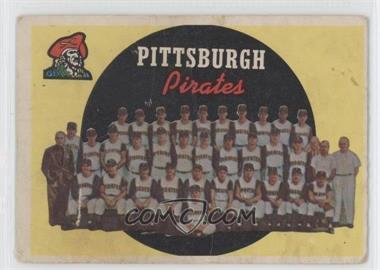 1959 Topps #528 - Pittsburgh Pirates Team [Good to VG‑EX]