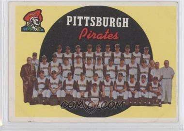 1959 Topps #528 - Pittsburgh Pirates Team