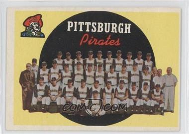 1959 Topps #528 - Pittsburgh Pirates Team