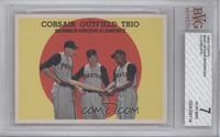 Corsair Outfield Trio (Bob Skinner, Bill Virdon, Roberto Clemente) [BVG7]