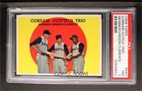 Corsair Outfield Trio (Bob Skinner, Bill Virdon, Roberto Clemente) [PSA7]