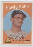 Howie Nunn