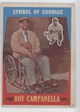 1959 Topps #550 - Roy Campanella
