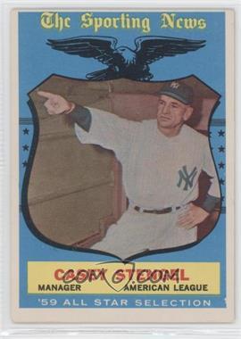 1959 Topps #552 - Casey Stengel