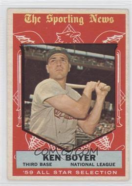 1959 Topps #557 - Ken Boyer