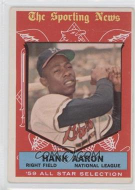 1959 Topps #561 - Hank Aaron [Good to VG‑EX]