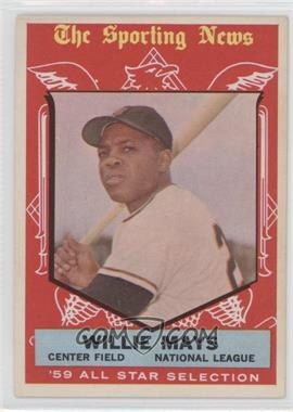 1959 Topps #563 - Willie Mays