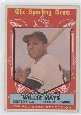 1959 Topps #563 - Willie Mays [GoodtoVG‑EX]