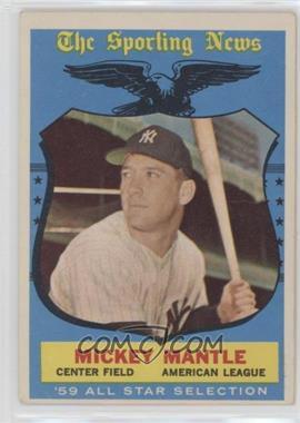 1959 Topps #564 - Mickey Mantle [PoortoFair]