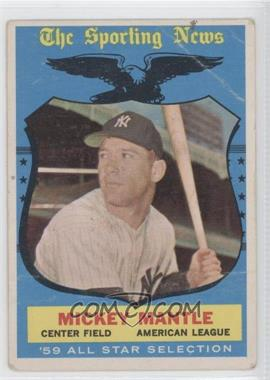 1959 Topps #564 - Mickey Mantle [Poor to Fair]