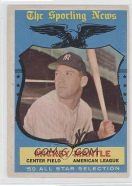1959 Topps #564 - Mickey Mantle