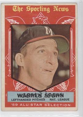 1959 Topps #571 - Warren Spahn