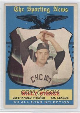 1959 Topps #572 - Billy Pierce