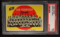 San Francisco Giants Team [PSA 7]