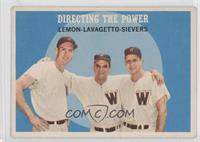 Jim Lemon, Cookie Lavagetto, Roy Sievers [Good to VG‑EX]