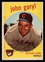 Johnny Goryl, John Goryl [EX]