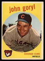 Johnny Goryl, John Goryl [VGEX]