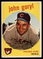 Johnny Goryl, John Goryl [VG]