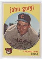 Johnny Goryl, John Goryl