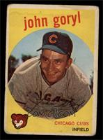 Johnny Goryl, John Goryl [GOOD]