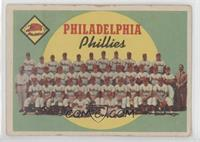 Philadelphia Phillies Team (First Series Checklist) [GoodtoVG&#8209…