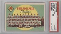 Philadelphia Phillies Team (First Series Checklist) [PSA4]