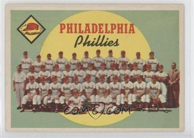 1959 Topps #8 - Philadelphia Phillies Team (First Series Checklist)