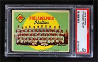 Philadelphia Phillies Team (First Series Checklist) [PSA 7]