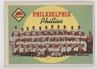 Philadelphia Phillies Team (First Series Checklist) [PoortoFair]