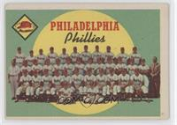 Philadelphia Phillies Team (First Series Checklist) [Good to VG&#8209…