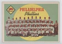 Philadelphia Phillies Team (First Series Checklist)