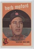 Herb Moford [Good to VG‑EX]