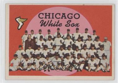 1959 Topps #94 - Chicago White Sox Team (2nd Series Checklist)
