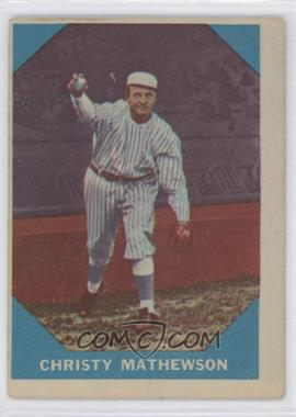 1960 Fleer - [Base] #2 - Christy Mathewson