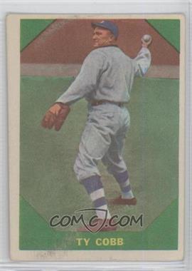 1960 Fleer - [Base] #42 - Ty Cobb [GoodtoVG‑EX]