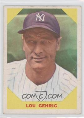 1960 Fleer #28 - Lou Gehrig [Good to VG‑EX]