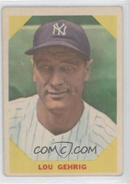 1960 Fleer #28 - Lou Gehrig [GoodtoVG‑EX]
